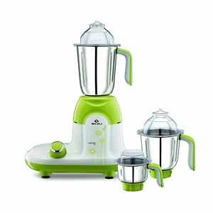 Bajaj Twister Deluxe 750-Watt Mixer Grinder with 3 Jars White with Free Shipping