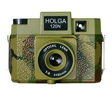 USD Holga 120 N 120N Medium Format Camera ARMY Camouflage Lomo Fujifilm AGFA