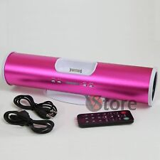 Muelle Docking Station Fucsia Radio FM Usb Mp3 para iPhone 3 G/3GS/4/4S/4G iPod