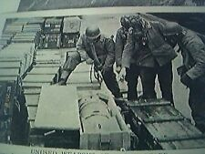 magazine picture - world war two ww2 - 1st u s army lassa - gas bomb hoard