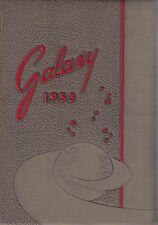Blue Creek High School Haviland Ohio 1953 HS Yearbook Annual