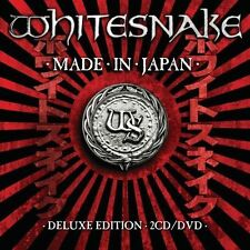 Made In Japan 2CD+ DVD LONG BOX SET LTD dijipack gatefold  WHITESNAKE