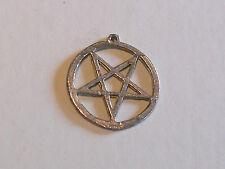 Pentagramm Drudenfuß Anhänger Metall Gothic Alchemy Paganism