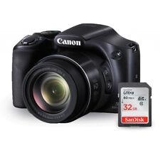 Canon PowerShot SX530 HS 16MP Digital Camera 9779B001 + Sandisk Ultra 32GB SD