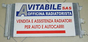 CONDENSATORE RADIATORE ARIA CONDIZIONATA FIAT PANDA 1.2 BENZINA 1.3 M/JET '03 ->