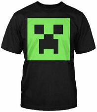 Minecraft Camiseta Mine Manualidades Camiseta Oficial CREEPER PLACA FRONTAL