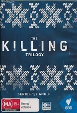 The Killing Trilogy DVD NEW Series 1, 2 and 3 One Two Three ALL Region 12-discs