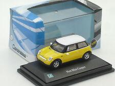 New 1:72 Mini Cooper R53 Yellow BMW n S D JCW 1.6i Austin Morris 1:76 OO Gauge