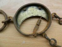 Vintage RARE  Weight Hook Round Scale 19th Century OLD