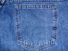 Riders Womens Denim Jeans Size 16M Medium Cuffed Ultra Low Rise 100% Cotton