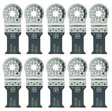 Fein 63502157290  Bi-Metal Starlock E-Cut Fine Saw Blade 2 Inch Pack Of 10 New