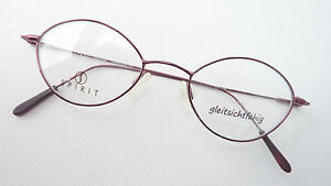 Frames Socket Ladies Glasses Braun Delicate Form Simple Metal Size S