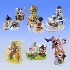 Bandai Dragon ball Z Imagination Gashapon Figure Part 10 Full Set of 6