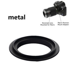 Black 52mm Macro Lens Reversing Reverse Ring Adapter For Canon EOS EF/EF-S Mount