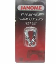 Free Motion Frame Quilting Feet Set for Janome 1600P Convertible 767-434-005