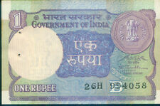 #319 India UNC One Rupee Note ▬ 1991 S.P. Shukla ▬ Re 1 Indian Currency ▬ RARE !