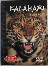 10 KALAHARI SUPERCAT DVD VIDEO 24 Page Book Natural Killers Predators Close-up