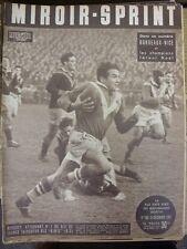 24/12/1951 MIROIR SPRINT francese giornale sportivo, il contenuto da includere: Rugby: FR