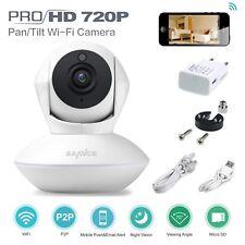 SANNCE Wireless 1x 720P IP Camera WiFi Night Vision IR Indoor Security CCTV Home