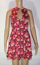 NWT Forever 21 Women's Short Length Dress Burgundy/Red Size S Small