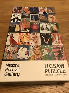 VOGUE CENTURY OF STYLE COVERS JIGSAW PUZZLE 750 PIECE NATIONAL PORTRAIT GALLERY