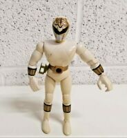 "Mighty Morphin Power Rangers vintage 8"" white ranger action figure"