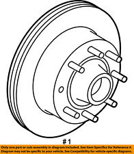 FORD OEM 08-14 E-350 Super Duty Front Brake-Disc Rotor BC2Z1102A
