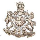 Antique British Lion & Unicorn Coat Of Arms Silver Monogram Collective.G29-84 US