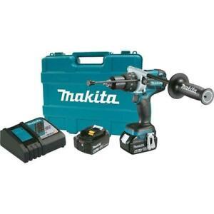 "Makita XPH07MB 18V LXT Brushless 1/2""Hammer Driver‑Drill SHIPS SAME/NEXT BUS DAY"