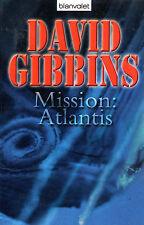 MISSION ATLANTIS - Buch von David Gibbins - BLANVALET