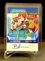 2019-20 UD Credentials Debut Ticket Access RC Autograph #109/299 BRADY KEEPER