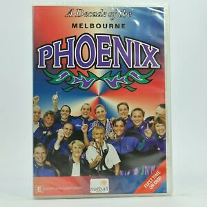 Australian Netball A Decade Of The Melbourne Phoenix DVD 1997 New Sealed