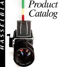 1989 HASSELBLAD CAMERA SYSTEM CATALOG BROCHURE -500C/M-SWC/M-500ELX-2000FCW