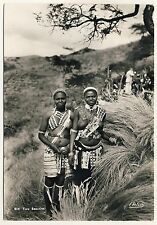 S Africa Women in Festive dress/women with Bare Chest * 60s Ethnic Nude PC