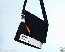 NWT Pantone Universe Laptop Shoulder Bag Black 19-4015 TPX Apple Macbook