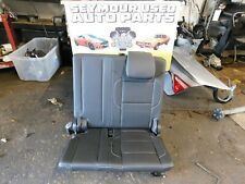 15 16 17 18 19 Chevrolet Suburban Yukon Tahoe 3RD THIRD ROW BLACK Leather SEATS