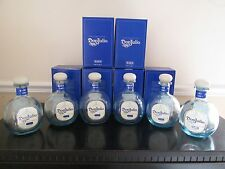 Lot Of 6 Empty 750 ML Don Julio Blanco Tequila Bottles With Cork Tops and Boxes