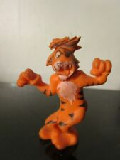 vintage cartoon tiger with patch pvc toy rare
