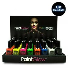 Glow in the Dark UV Nail Varnish Polish Paint Make Up Professional Party Glamour
