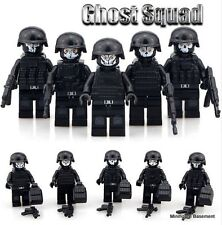5 pcs Custom Call of Duty Ghost Army SWAT Minifigures Fits Lego FAST UK Seller
