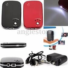 Portable USB Charger Pocket Electric Hand Warmer Heater Rechargeable Led Light