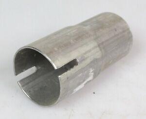 1xAuspuff Reduzierungsstück Verjüngungsstück 100mm46mm lang43mm/49mm-46mm F10196