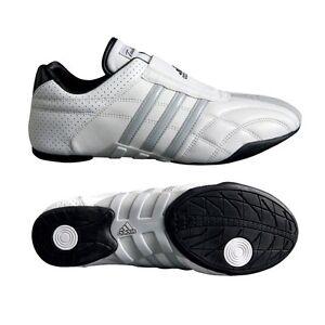 New adidas ADI-LUXE Taekwondo Karate MMA Hapkido Martial Arts Indoor Shoes-WHITE