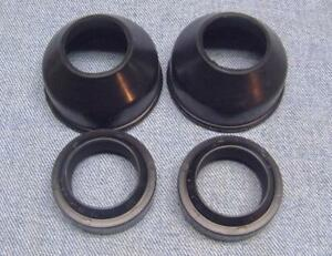 TRIUMPH BSA FORK SEALS AND FORK BOOTS 1971 UP 97-4001/4002 T120 T140 T150 A65