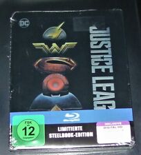 Justice League Limitée en Relief steelbook Édition blu ray Neuf & Ovp