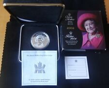 2002 SILVER PROOF CANADA $1 COIN BOX'S + COA QUEEN MOTHER A TRIBUTE RARE