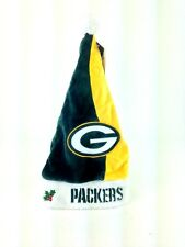 Green Bay Packers Santa Hat Christmas Holiday NFL Football Licensed Cap