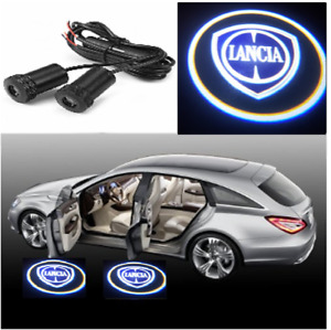 2X LED Car Door Welcome Light HD Logo Courtesy Projector Ghost Laser Lancia