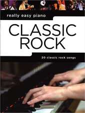 Klavier Noten - CLASSIC ROCK - REALLY EASY PIANO - 20 classic rock songs -