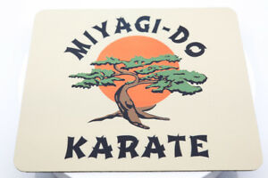 Karate Kid Miyagi-Do Mouse Pad Sublimated Retro 80s Movies